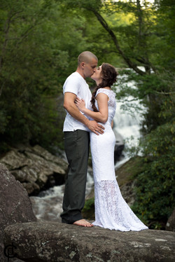 Waterfall Wedding - 11