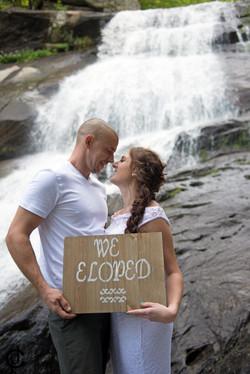 Waterfall Wedding - 8