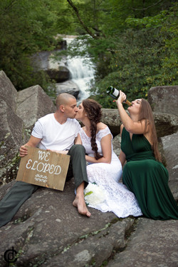 Waterfall Wedding - 19