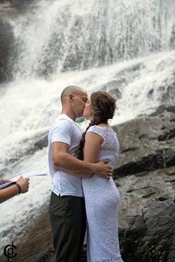 Waterfall Wedding - 9