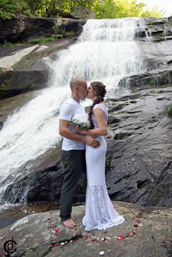 Waterfall Wedding - 5