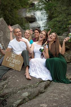 Waterfall Wedding - 20
