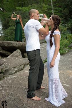Waterfall Wedding - 18