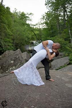 Waterfall Wedding - 16