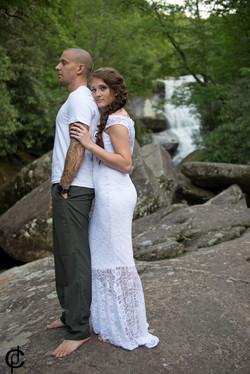 Waterfall Wedding - 15