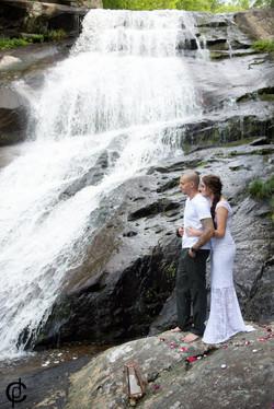 Waterfall Wedding - 2