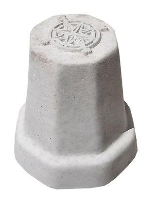 Антипаркувальний бетонний стовпчик боллард  Роза вітрів