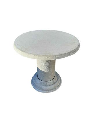 Стіл круглий з бетону