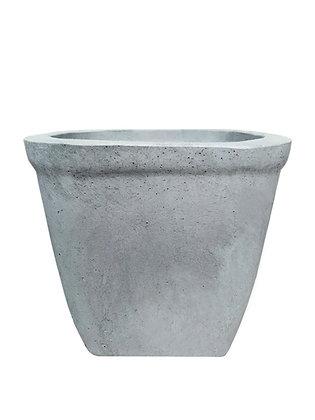 Кашпо вазон квітник вуличний з бетону висота 40 см