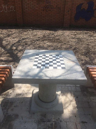 Бетонні шахові столи