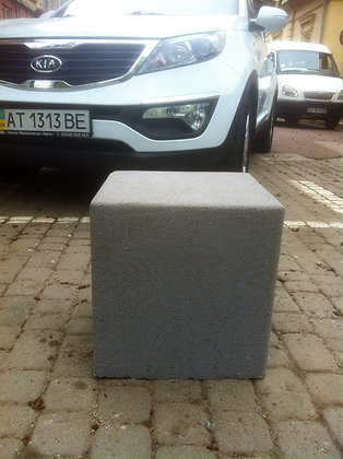 Антипаркувальний бетонний кубик «Конкріт»