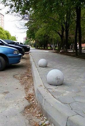 Антипаркувальна бетонна сфера «Куля»