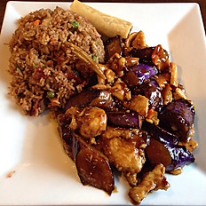Chicken and Eggplant