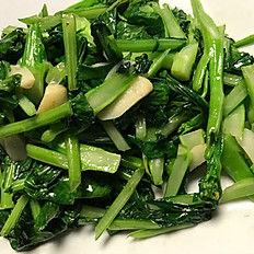 Choy Sum with Garlic Sauce