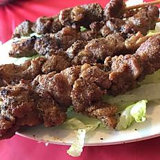 Spicy Lamb Skewers