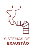 ícone sistema de exaustão