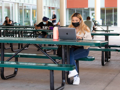 Students return to campus
