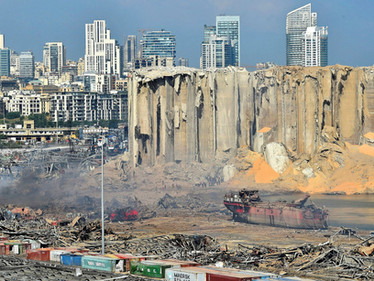 """The """"historically powerful"""" blast in Beirut that changed lives forever"""