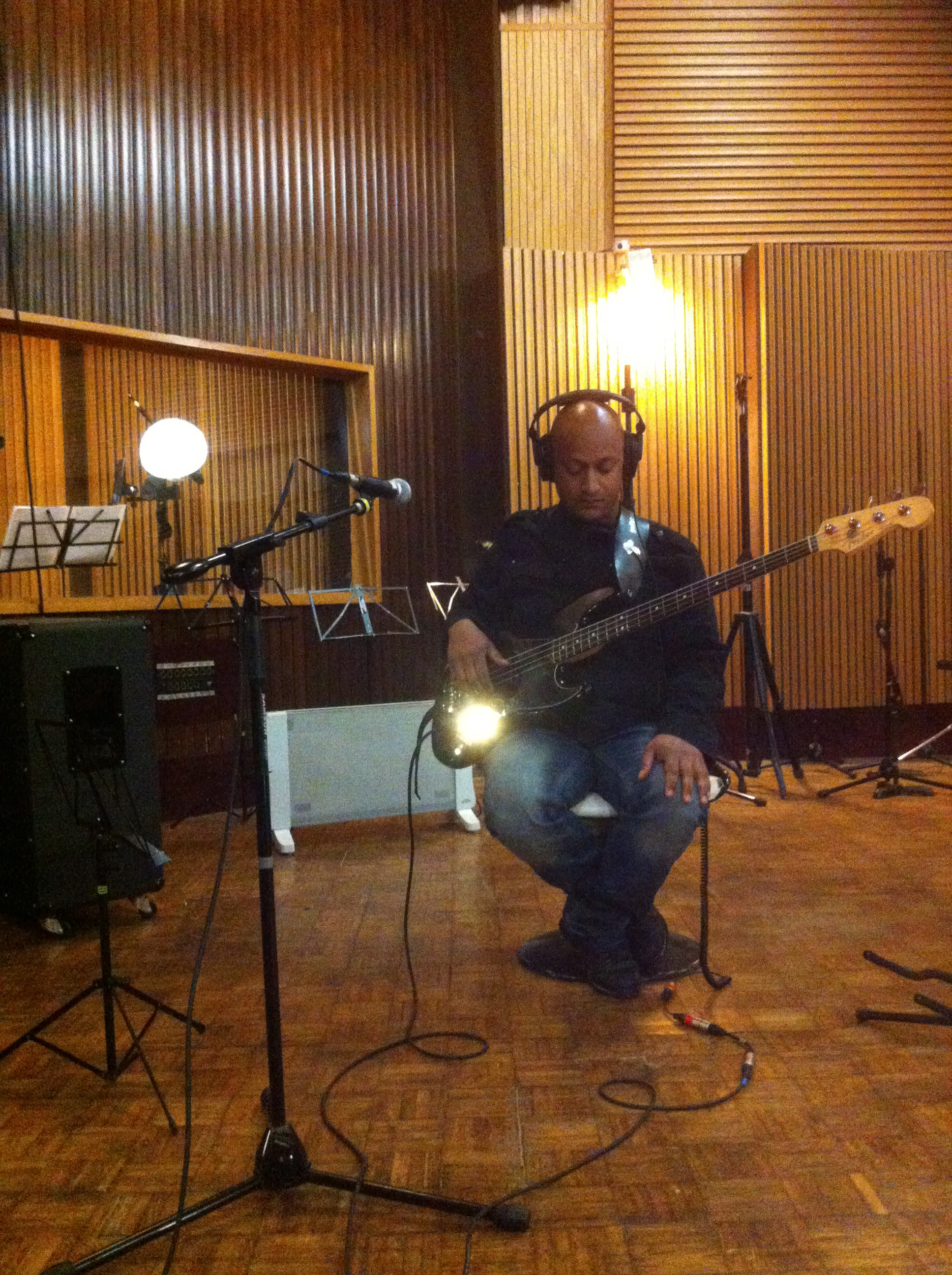 recording Gino