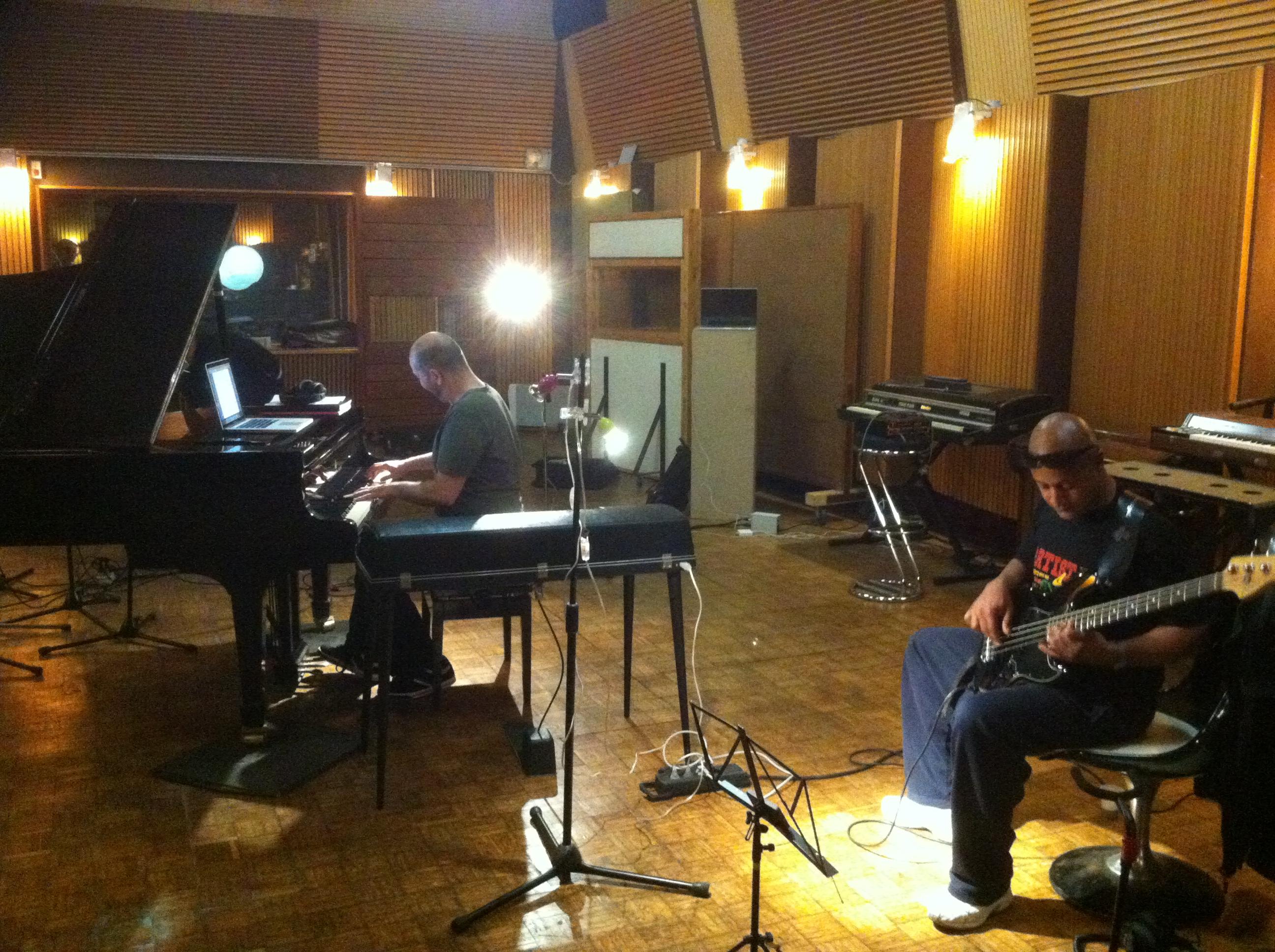 recording Gino LD
