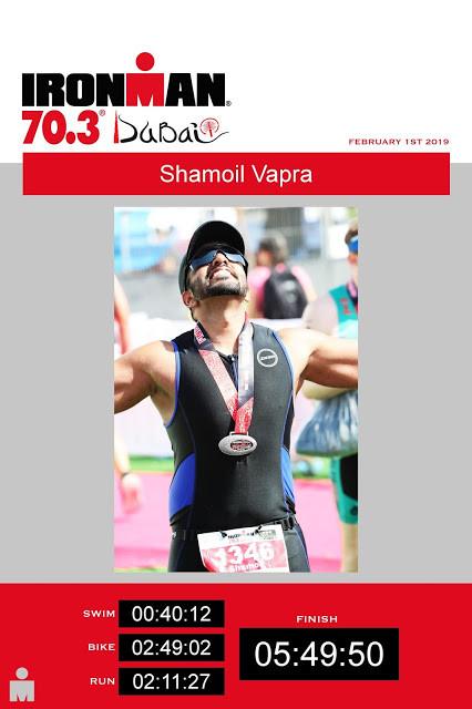 The eureka moment after winning Ironman 70.3 Dubai