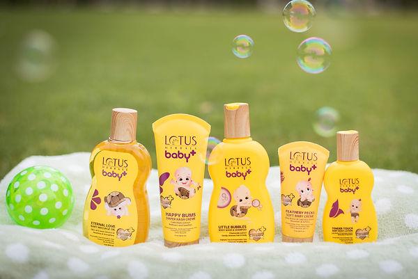 Lotus Herbals Baby Plus Range Final Brand Packaging Design
