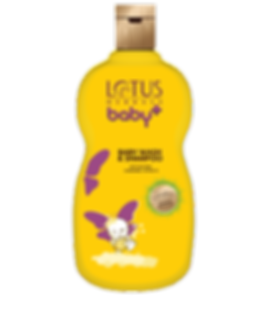 Lotus Herbals Baby Plus Baby Wash & Shampoo Brand Packaging Design With Baby In It