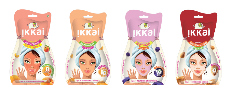 "Ikkai ""One and Done"" products range banner"