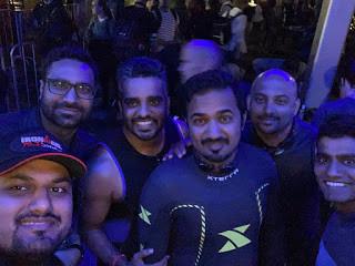 Ironman 70.3 Dubai - with my buddies