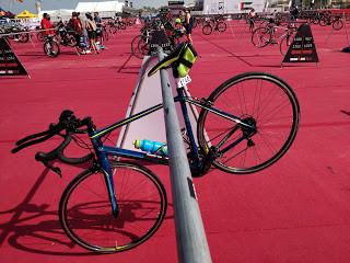 My bike for race at Ironman 70.3 Dubai
