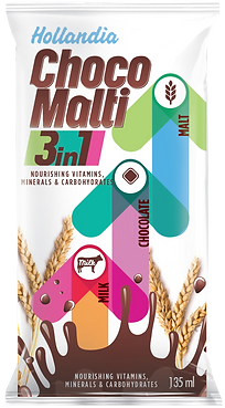 Hollandia Choco Malti 3in1 pakaging exploration