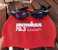My swim glasses at Ironman 70.3 Dubai