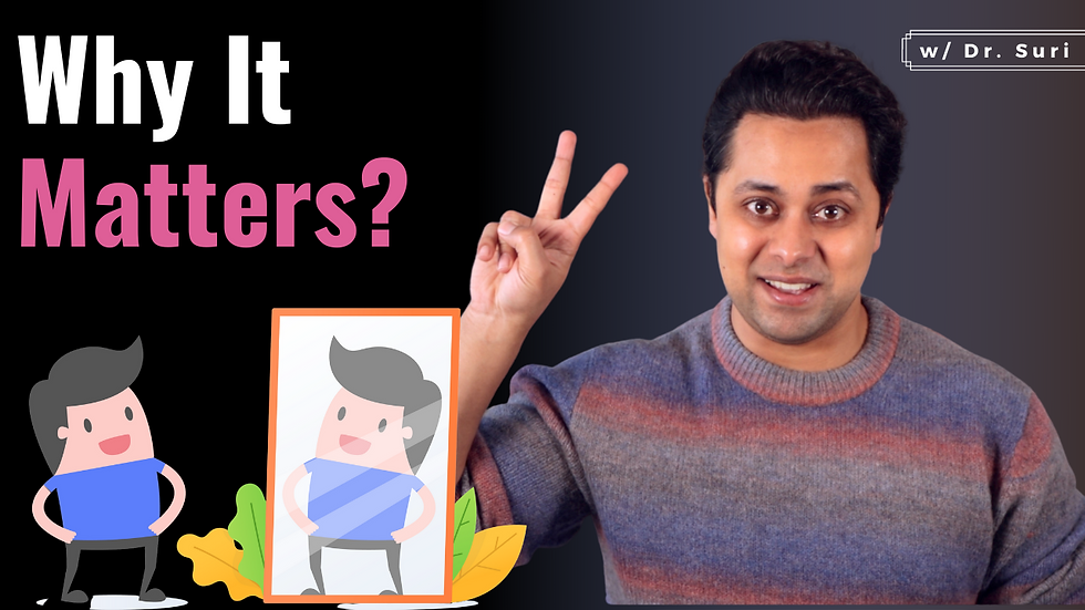 What does Self Awareness Mean? | ANSWERED by Dr Suri