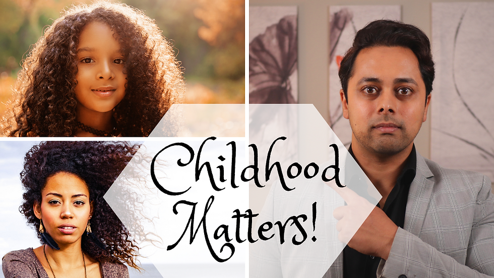This is why your CHILDHOOD STILL AFFECTS YOU & how to fix it | Dr Suri