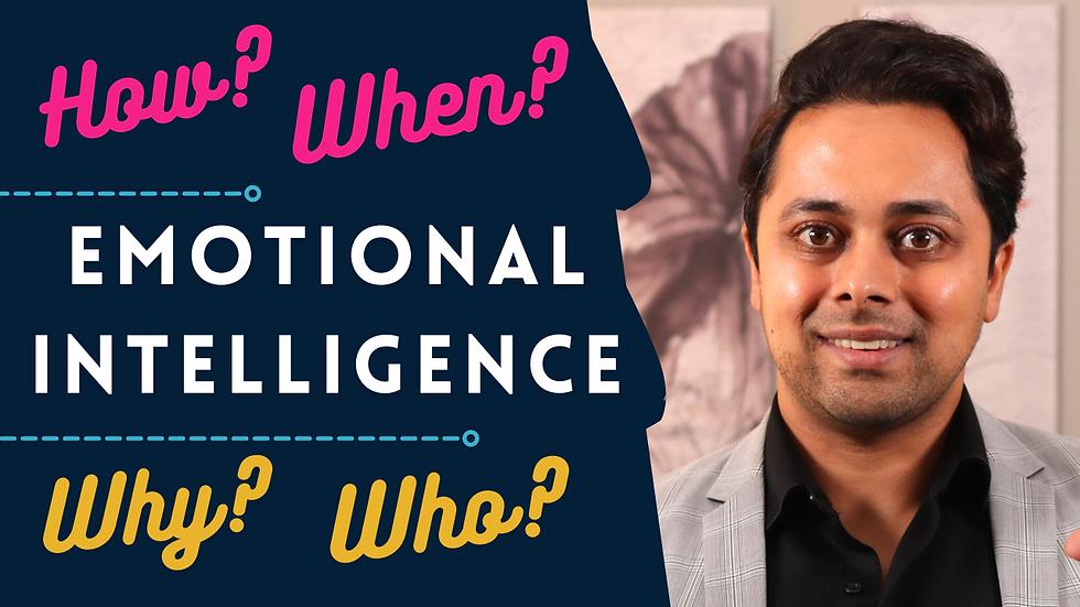 Improve emotional intelligence - 3 MOST EFFECTIVE ways