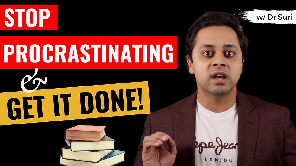 "How to STOP PROCRASTINATING? (Answering ""Why do I Procrastinate"")"