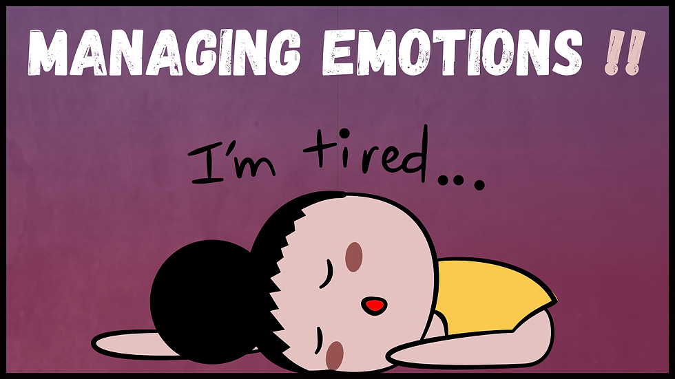 Why are Emotions so Exhausting (and Hard to Control) 🤯