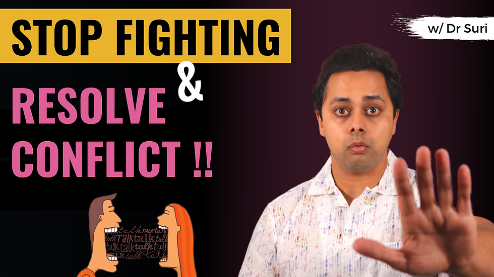 How to RESOLVE CONFLICT in Relationships? (Fair Fighting Rules)