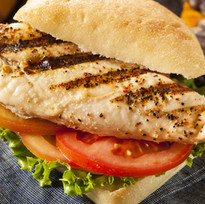 Healthy Grilled Chicken Sandwich with Ve