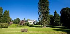 Lake Hotel gardens