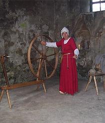 Barbara spinning