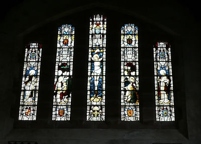 Refurbished Memorial window