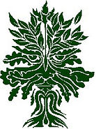 Green Man logo