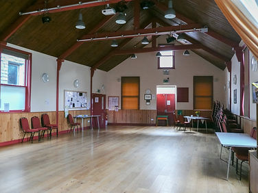 Inside of the Alexandra Hall