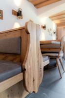Gaststube Berggasthof Riatsch - Detailansicht