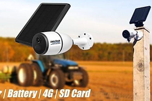 4G CCTV CAMERA WITH SOLAR PANEL AND MICRO SD CARD