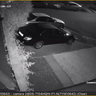 CCTV Night vision