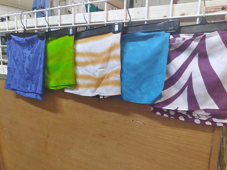Head tie fabrics