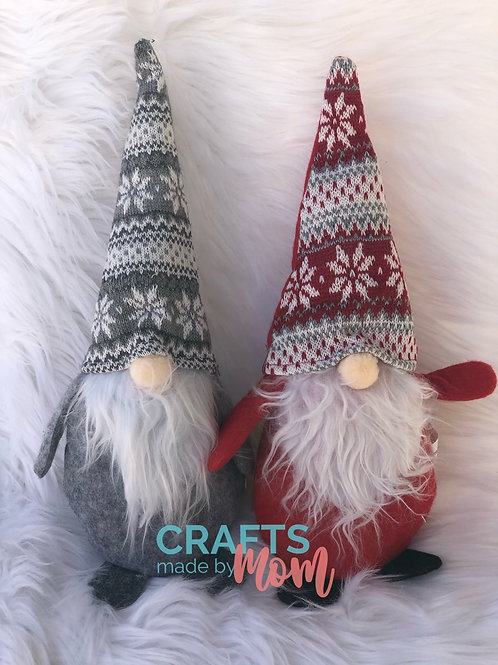 Gnome Family- Large Red Gnome