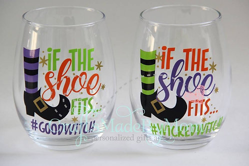 If the Shoe Fits Glass Set